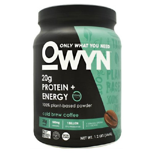 Plant Protein Cold Brew Coffee 1.2 lbs by Only What You Need