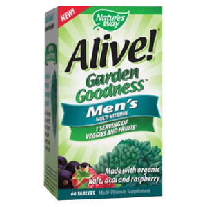 Alive! Garden Goodness Men's Multivitamin 60 Tabs by Nature's Way (2590029316181)
