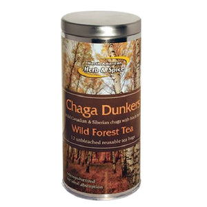 Chaga Dunkers 12 Each by North American Herb & Spice (2590036885589)