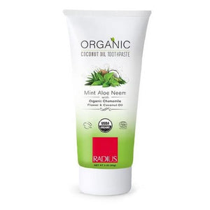 Organic Toothpaste Mint Aloe Neem 3Oz by Radius Toothbrushes (2590048813141)