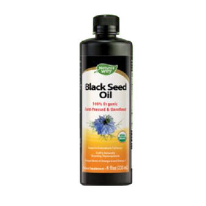 Black Seed Oil 8 Oz by Nature's Way (2590049730645)
