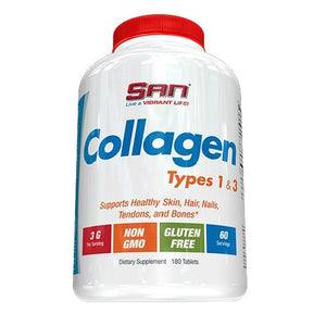 Collagen Types 1 & 3 180 Tabs by SAN Supplements (2587890024533)