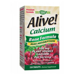 Alive! Calcium 120 tabs by Nature's Way