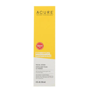 Brilliantly Brightening Facial Scrub 4 Oz by Acure (4753960304725)