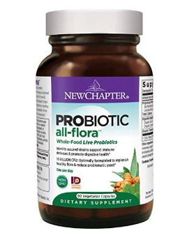 Probiotic All-Flora 60 Veg Caps by New Chapter (2614528737365)