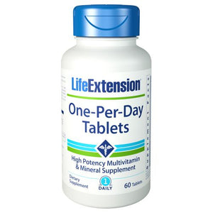 One Per Day Tablets 60 Tablets by Life Extension