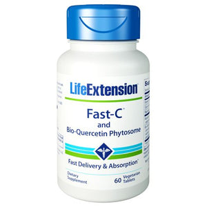 Fast-C with Bio-Quercetin 60 Tabs by Life Extension
