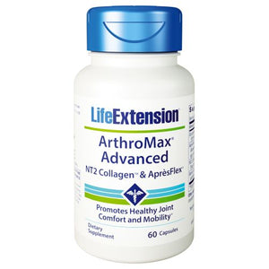 ArthroMax Advanced with NT2 Collagen & ApresFlex 60 Caps by Life Extension (2636320604245)