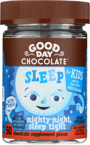Sleep For Kids 50 Count by Good Day Chocolate (2587889893461)