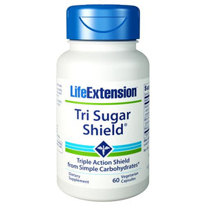 Tri Sugar Shield 60 Vcaps by Life Extension (2590116020309)