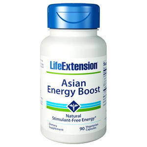 Asian Energy Boost 90 Vcaps by Life Extension (2590116118613)