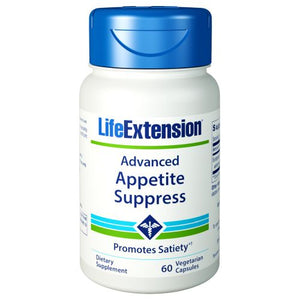 Advanced Natural Appetite Suppress 60 Vcaps by Life Extension (2590120509525)