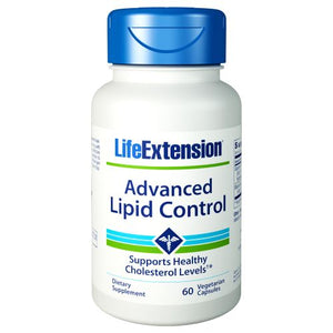 Advanced Lipid Control 60 Vcaps by Life Extension (2590121066581)