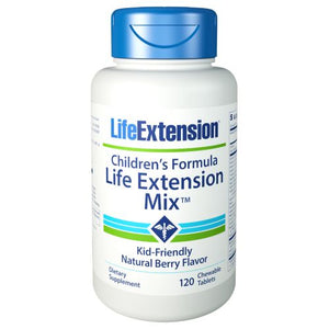 Children's Formula Life Extension Mix Berry 120 Chewabel Tabs by Life Extension