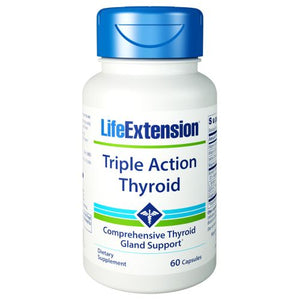 Triple Action Thyroid 60 Caps by Life Extension (2590312202325)