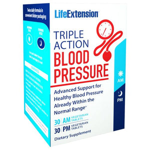Triple Action Blood Pressure 60 Tabs by Life Extension