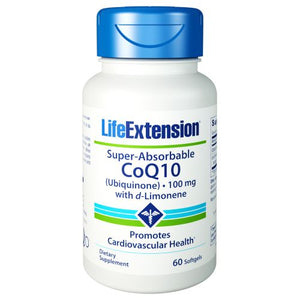 Super Absorbable CoQ10 60 Softgels by Life Extension
