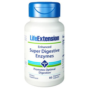 Enhanced Super Digestive Enzymes 60 Veg Caps by Life Extension (2590343233621)