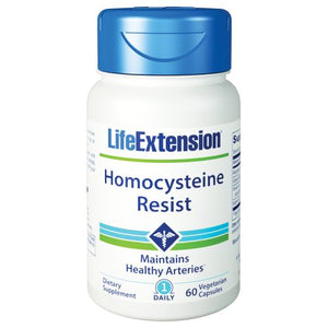 Homocysteine Resist 60 Veg Caps by Life Extension (2590343462997)