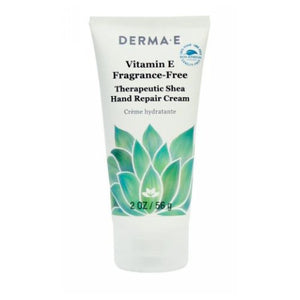 Vitamin E Fragrance-Free Therapeutic Moisture Shea Hand Cream 2 Oz by Derma e