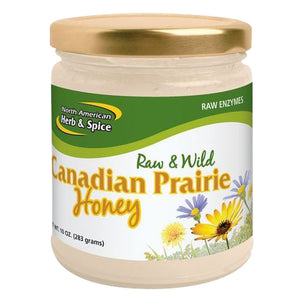 Canadian Wild Prairie Honey 10 Oz by North American Herb & Spice (4754009882709)