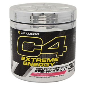 C4 Extreme Energy Pre-Workout Strawberry Kiwi 30 Servings by Cellucor (4753977507925)