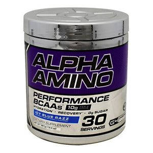 Alpha Amino Blue Raspberry 30 Servings by Cellucor (4753977606229)