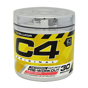 C4 Pre-Workout Explosive Energy Cherry Limeade 30 Servings by Cellucor (4753978032213)