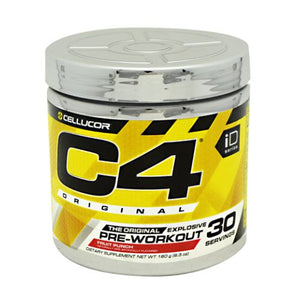 C4 Pre-Workout Explosive Energy Fruit Punch 30 Servings by Cellucor (4753978097749)