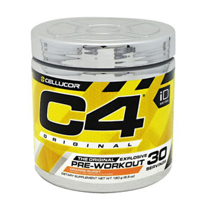 C4 Pre-Workout Explosive Energy Orange Burst 30 Servings by Cellucor (4753978196053)