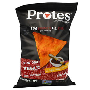 Protein Chips Tangy BBQ 24 X 1 Oz by Protes (2614608429141)