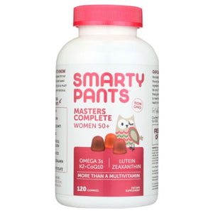 Masters Complete Women 50+ 120 Count by SmartyPants Gummy Vitamins (4753981964373)
