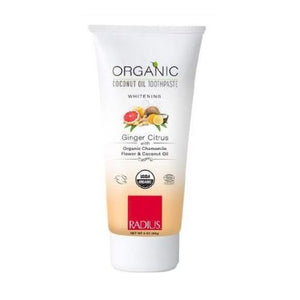 Organic Toothpaste Ginger Citrus 3Oz by Radius Toothbrushes (2590049271893)