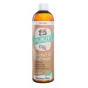 Coconut Oil Mouth Wash 12 Oz by Dr.Ginger's