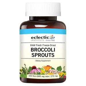 Broccoli Sprouts 100 Caps by Eclectic Institute Inc (2587252293717)