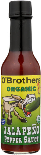 Jalapane Pepper Hot Suace 5 Oz by O' Brothers (4753969217621)
