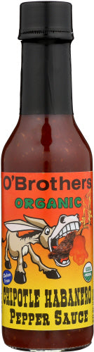 Hot Sauce Chipotle Habanero Pepper Sauce 5 Oz by O' Brothers (4753969446997)