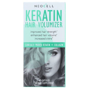 Keratin Hair Volumizer 60 Caps by Neocell Laboratories