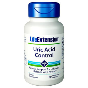 Uric Acid Control 60 Veg Caps by Life Extension