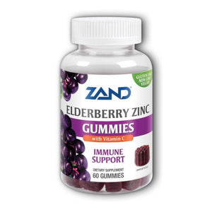 Elderberry Zinc Gummies 60 Count by Zand (4754018533461)