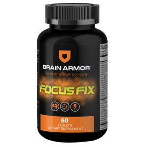 Focus Fix Tablets 60 Tabs by Brain Armor (4754018828373)