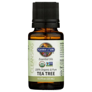 Essential Oil Tea Tree 0.5 Oz by Garden of Life (4754021187669)