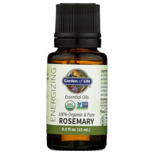 Essential Oil Rosemary 0.5 Oz by Garden of Life (4754021482581)