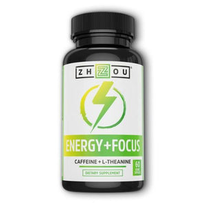 Energy + Focus 60 Veg Caps by Zhou Nutrition (4754021744725)