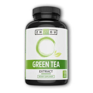 Green Tea Extract 120 Veg Caps by Zhou Nutrition (4754021843029)