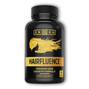 Hairfluence 60 Veg Caps by Zhou Nutrition (4754021875797)