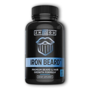 Iron Beard 60 Veg Caps by Zhou Nutrition (4754022072405)