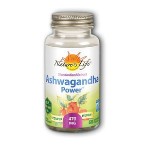 Ashwagandha Power 60 Veg Caps by Zand (4754022563925)