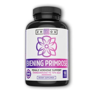 Evening Primrose Oil 90 Softgels by Zhou Nutrition (4754023841877)