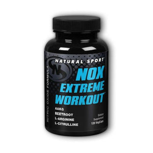 NOX Extreme Workout 120 Veg Caps by Natural Sport (4754024071253)